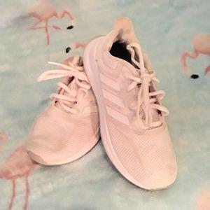 Adidas Boy's White Sneakers
